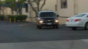 Tustin Cop Car