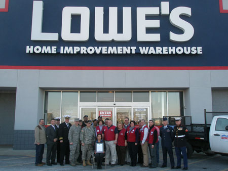 Lowe's Logo http://ourtowntustin.com/tag/lowe-s-home-improvement/