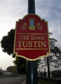 old town tustin sign
