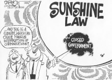 sunshine law