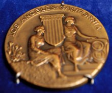 1932-olympic-gold-medal
