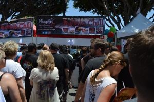 Long lines form at the best chili booths