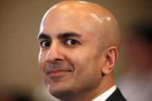 Neel Kashkari looks up during a meeting at the Committee for a Responsible Federal Budget Annual Conference in Washington