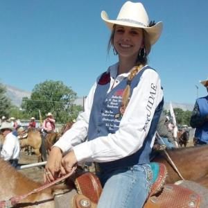 CSHSRA Barrel Racing Champion, Heather Eckman