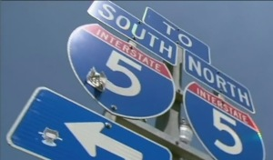 I-5 generic sign